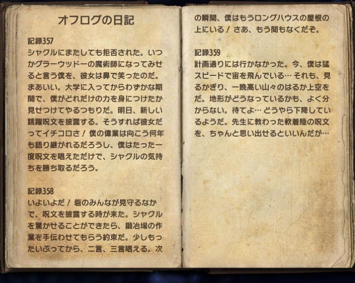 オフログの日記